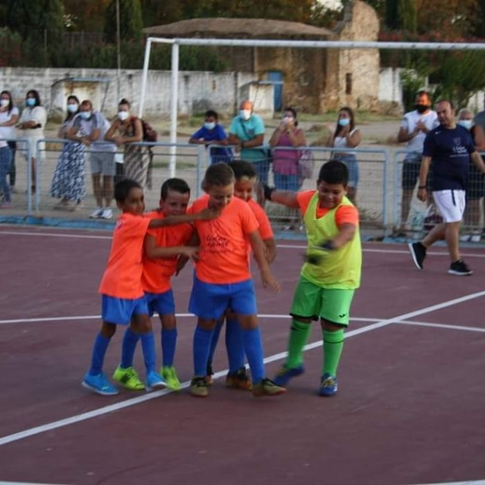 Torneo Prebenjamin gol